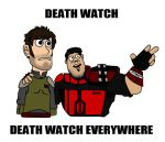 DEATH WATCH EVERYWHERE by Karlika