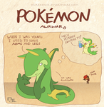 Pokemon Awkward: 99 Problems and Limbs are One by DarkKenjie