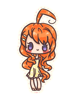 New OC Chibi: Eru by Anonanon-chan