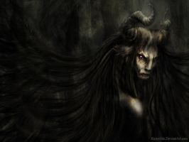 Old Forest Faun 1024x768 by Kipestshin