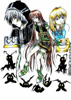 Kingdom Hearts Clover by Starless-Song