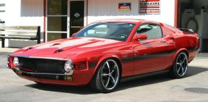 '69 Tribute Mustang by Beowulf-BX