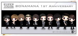 Happy 1st Anniversary Bonamana by MyCherishe