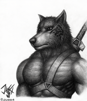 Maxwell the Wolf by Jugg4