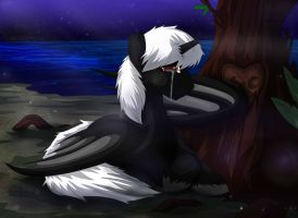 -A Desolate Heart- MLP Commission by LTN01