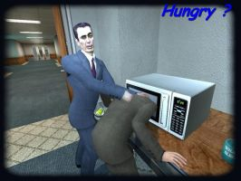Hungry Mr.Freeman ? by Hashakgig1106