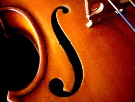 My classical violin by SolitudeMistress