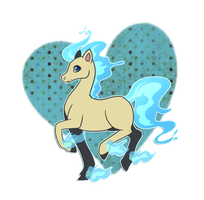 PKMNA :: Ponyta racing prize [UPDATE] by CherryBuns