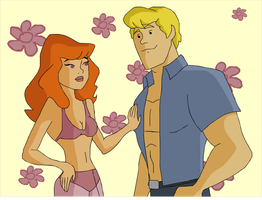 Fred and Daphne - In Love by fred-jones