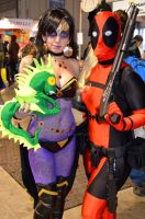 Witch and Deadpool by KillerGio