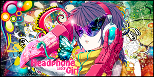 Headphone Girl by J-SCCP