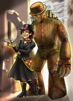 Steampunk Threadcaster by jameson9101322