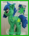 mlp plushie commission COTTONWOOD completed by CINNAMON-STITCH