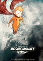 Mosaic Monkey Return 3 by xiaobaosg
