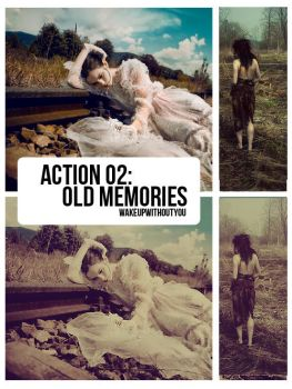 Action Old Memories by WakeUpWithoutYou