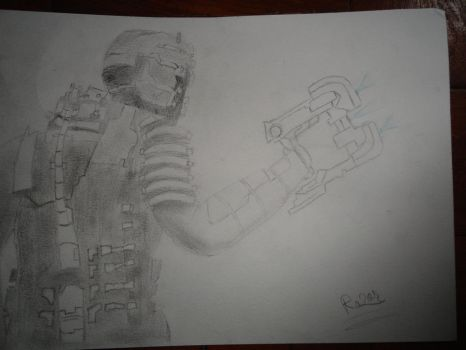Dead Space Drawing by urbanrazor