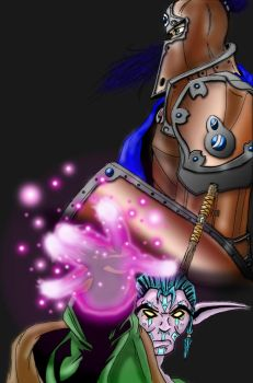 World of Warcraft Pre launch by elven-jedi