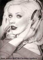 Christina Aguilera Headphones by jardc87