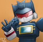 soundwave chibi by crimson-nemesis