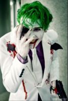 The dark knight returns Joker cosplay by SmilexVillainco