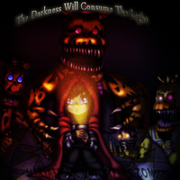 Consume The Light :speedpaint: by Mariatiger