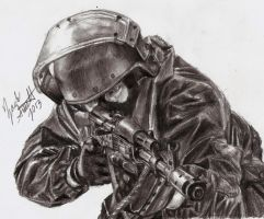 Spetsnaz Soldier by shank117