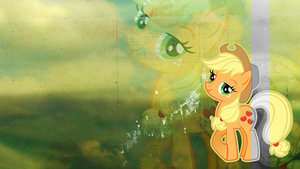 Wallpaper: Applejack by MadBlackie
