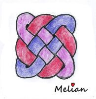 Celtic knot try by MelianOfMist