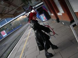 Axel at the Station by KellyJane