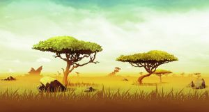 Relic Ball: African Savanna by Appylon