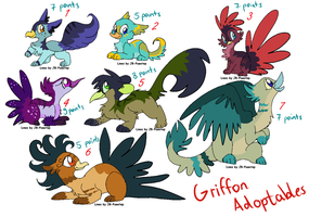 Griffin Adopts CLOSED by LizzysAdopts