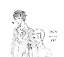 John and Sherlock by FuckingNya