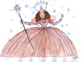 Glinda the Good by DemonCartoonist
