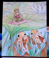 The Fairy and the Fish by ATpond