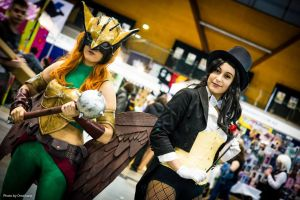 Zatanna and Hawkgirl 2 by Lily-pily