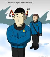 Spock in winter by BJ-O23