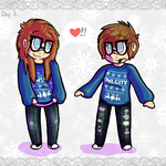 Day 01 - Sweaters :: Winter 2014 by Beetleflight