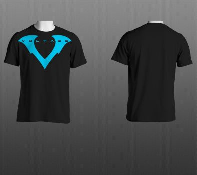 Voltage T-shirt design by RAYN3R-4rt