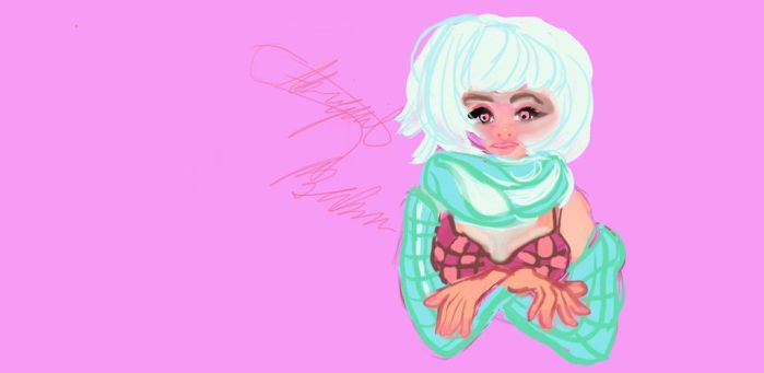 freezing girl by abbydreamcutie