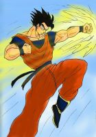 Ultimate Gohan Attack! by shadesoflove