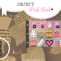 Object Pink Dock by PelushitaPetisuit
