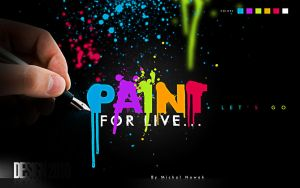 Paint for live by MichalNowak