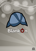 BlankOn Poster by ncus