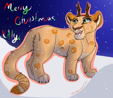 Merry Christmas Kittencradle by lolpeaceoutlol