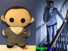 BBC Sherlock Plushes: Jim Moriarty by AkaKiiroMidoriAoi