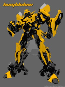 bumblebee by nokamote