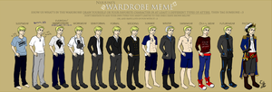 wardrobe meme with Llew by EllenorMererid