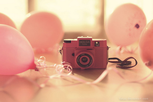 Wallpaper Camera Pink by Fatuu