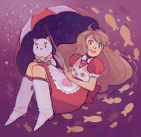 Bee and Puppycat by starpotion