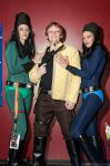 Luke and the Sisters by Gordy69